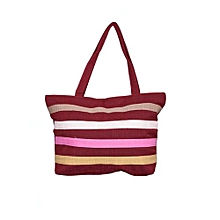 Beach/Shopping Bag- Maroon