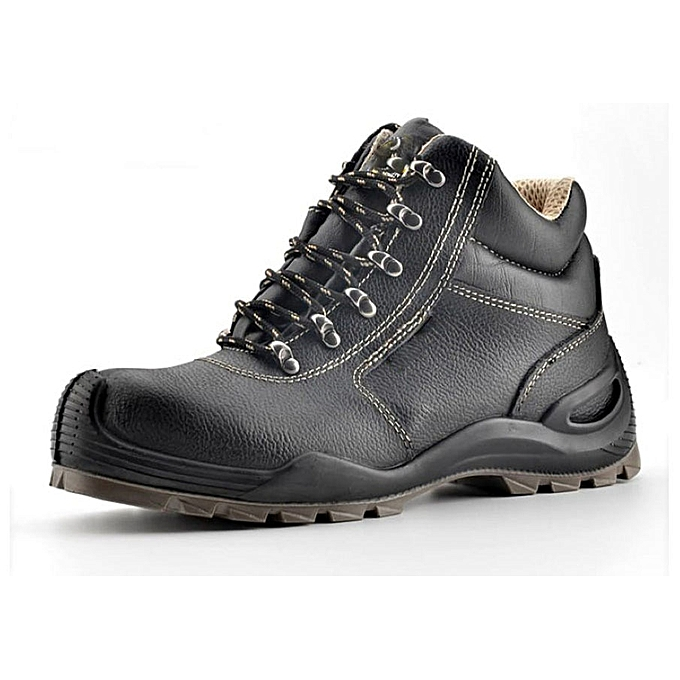 02e89d159a2 Safety boots Black, Steel toe cap, steel plate, Safety shoes number 6/40  for men and women