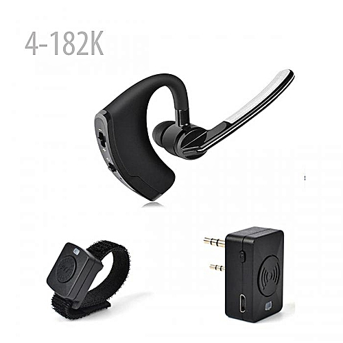 4-182 Bluetooth Headset Earpiece Wireless PTT HT Walkie Talkie(Have  Different options) JULIANA