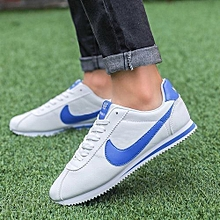 2018 New Men's Art Thick-soled Men's Shoes Autumn Breathable Shoes Wild Student Casual Shoes