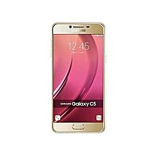 """Galaxy C5 - 5.2"""" - 32GB - 4GB RAM - 16MP Camera - Dual SIM - 4G/LTE - Gold"""