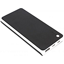 D9,30000mAh Portable Super Slim power bank - Black