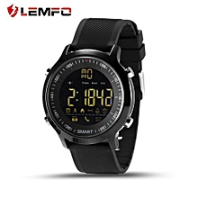 LEMFO EX18 Pedometer Smart Watch Message Reminder For Android For IOS Phone-black