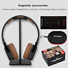 Super Bass Wireless On Ear Bluetooth Headphones with Mic