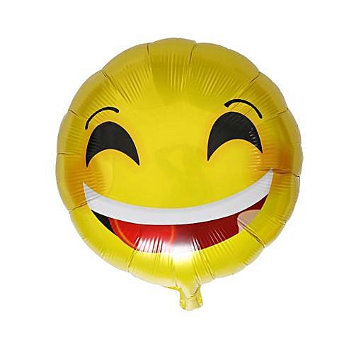 Generic Foil Emoji Helium Balloon Happy Birthday Party Home Decoration