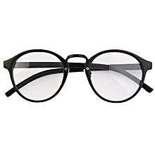 31cd0c8db5f2 Man Woman Classic Geek Vintage Large Frame Fashion Round Clear Lens Glasses  - N A