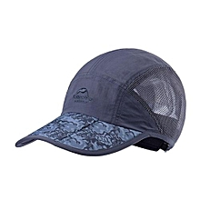 Summer Sun Trekking Sports Quick-drying Breathable Baseball Sports Caps(Blue)