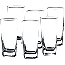 Plaza 295 ml, Clear, Pack of 6 .