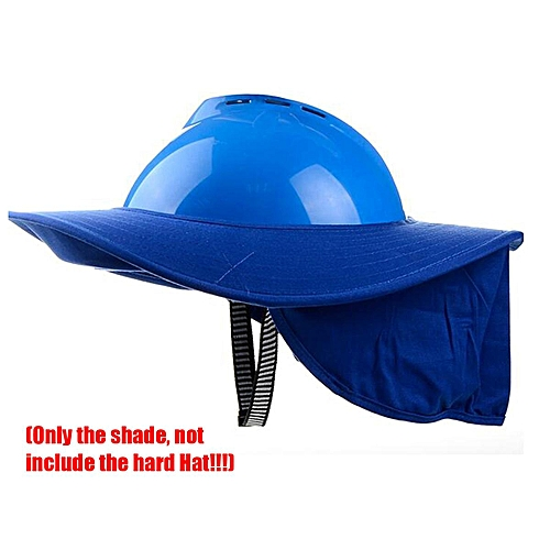 Buy Generic Safty Full Brim Hard Hat Neck Shield Sun Shade Eye Mask  Anti-glare Protection   Best Price  3a50230d304