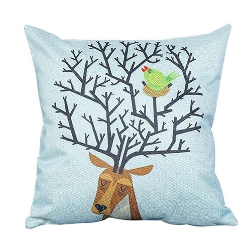 Throw Pillows Joss And Main : Cocobuy 45cm*45cm Cartoon Pillow Cotton Linen Houseware Square Throw Pillow Cushion Buy online ...