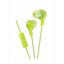 HA-FR6 - Gumy Plus Inner Ear Headphones - Pistachio Green