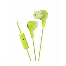 HA-FR6 - Gumy Plus Inner Ear Headphones - Pistachio Green