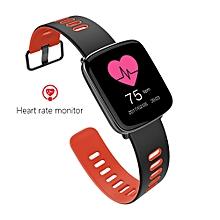 GV68 Bluetooth Wrist Call Smart Heart Rate Smartband Pedometer Mate Watch OR