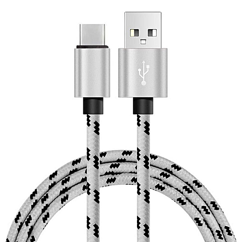 bluerdream-USB-C USB 3.1 Type C Data&Sync Faster Charger Cable For LG V20-Silver