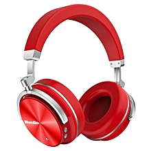 LEBAIQI Bluedio T4 (Turbine) headset Active Noise Cancelling Over-ear Swiveling Wireless Bluetooth Headphones with Mic
