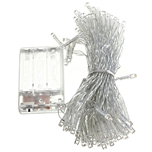 10M Battery Powered Operated LED Fairy String Light Lamp Christmas Halloween Warm White
