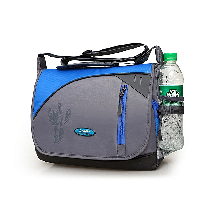 Buy Fashion Women Men Nylon Shoulder Bag Messenger Bag Waterproof ... 86b526cc641b0