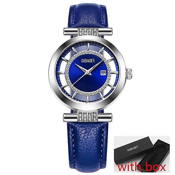 Ladies Quartz Brand Luxury Wristwatch Top Fashion Oubaoer nw8vO0mN