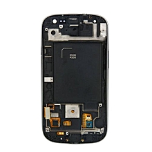 Lcd Screen With Frame Touch Screen Lcd Display Complete Screen Assembly Replacement Parts White For Samsung Galaxy I535