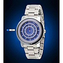 Fashion Mens Quartz Watch Luxury Brand Roulette Time Display Cool Style Wristwatches Japan Movement Sport Relogio Masculino