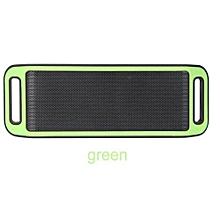 S816 Mini Wireless Smart Metal Portable Bluetooth Speaker Handfree Stereo Speakers For PC Laptop Iphone Smartphone(Green)