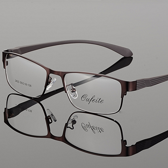 641c1ba4974 Upscale metal eye spectacle frame whole frame glasses men and women  spectacles for near sight mirror