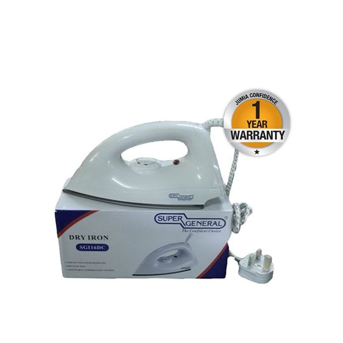 SGI16DC - Dry Iron - White