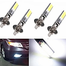 4Pcs H1 Xenon High Power 7,5W Wei? LED COB Auto Lampe Birne Nebel Licht 6500K DC 12V
