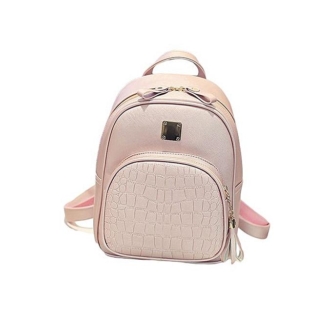 a1d1a8c834 Tectores Fashion Accessories New Fashion Women Backpacks Girl School Bag  High Quality Ladies Bags PK