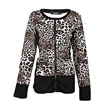 Leopard Slim Jumper
