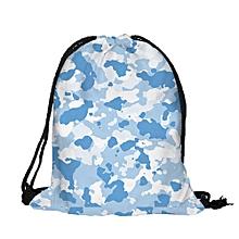 Fashion Backpack Printing Travel Soft Back Man Women Drawstring Bag Backpacks C
