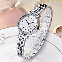 Luxury Diamond Watch Women Watches Bracelet Ladies Watch Clock Women Silver