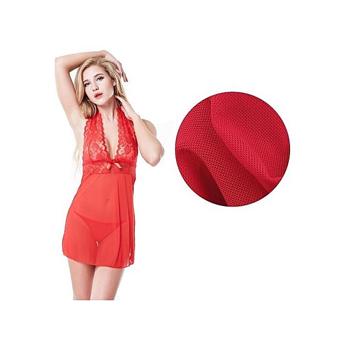 2c3353d88 ... Women Sexy Lingerie Corset With G-string Underwear Sleepwear Set RD M