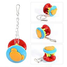 Colorful Pet Bird Hanging Teeth Chew Training Ball Toys (#3)