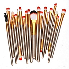 Eastman 20 Pcs Makeup Brush Set Tools Make-up Toiletry Kit Wool Make Up Brush Set  Stylish