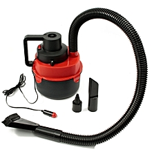 12V Portable Wet Dry Mini Vacuum Cleaner Carpet Car Boat Air Inflating Pump Red