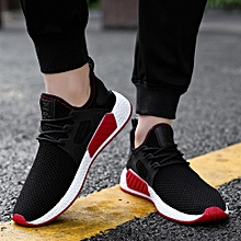 Men Fashion Solid Cross Tied Casual Shoes Gym Shoes Running Shoes (US Size)
