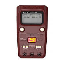 BSIDE ESR02PRO Digital Transistor SMD Components Tester Diode Triode Capacitance Inductance Meter