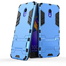 MeiZu Meilan 6 Case, Mooncase 2 In 1 Hybrid Rugged Armor Cases Cover Slim Thin Anti-Scratch Shockproof Protective Sleeves (As Shown)