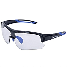 Outdoor Sports Windproof UV Protective Mountain Bike Cycling Glasses (Blue)