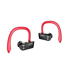 Wireless Earbuds, T2 TWS True Wireless Headphone Mini Bluetooth Headset Sport Noise Cancelling Earphone - Red