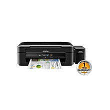 L382 - InkJet Color Printer & Scanner - Black.