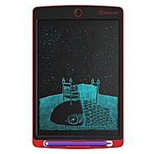 WP9308 8.5 inch LCD Writing Tablet High Brightness Handwriting Drawing Sketching Graffiti Scribble Doodle Board or Home Office Writing Drawing(Red)