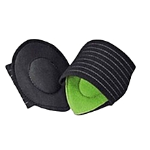 Hequeen Foot Arch Support Plantar Pads Fasciitis Aid Fallen Arches Heel Pain Relief Spring Tome Butterfly Shock Absorber Relief For Achy Tired Flat