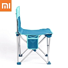 Xiaomi Folding Chair Portable Camping BBQ Beach Stool Ultralight Aluminum Alloy Chair Max Load 200kg