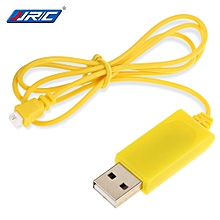 H20-06 Mini RC Hexacopter Spare Parts USB Charging Cable for RC Hexacopter H20 H20H Mini - Yellow