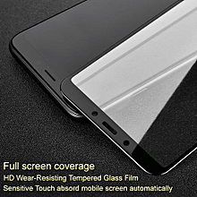 Pro+ Screen Protector For Redmi 6A Full Coverage Tempered Glass Protective For Redmi 6 / 6A Full Glue Absord Automatically