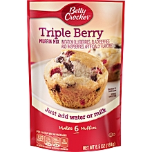 Triple Berry Muffin Mix - 184 g