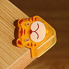 4pcs/lot Cute Cartoon Baby Safety Furniture Corner Guards Soft Child Safety Silicone Table Desk Corner Protector Edge Cover - laohu