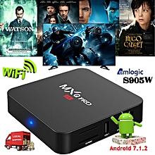 XBMC loaded KODI Android 7.1.2 Quad core Amlogic S905W 4K H.265 TV BOX Media WIFI HD 17.6